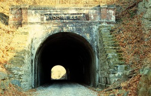 Eastern entrance to Moonville Tunnel