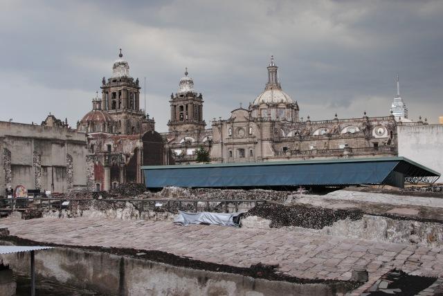 Tenochtitlan Ruins