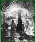 Inside the new Allegheny Mountain Tunnel. (Pennsylvania Turnpike Commission)