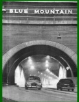 A picture illustrating the dangers of the two-lane tunnels. (Pennsylvania Turnpike Commission)